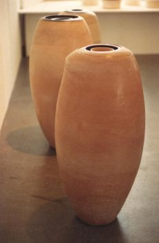 POLISHED EARTHENWARE OBJECTS 1985